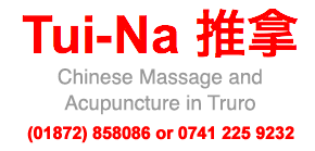 Chinese Massage in Cornwall
